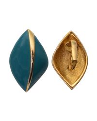 Rarities - Blue Trifari Turquoise Earrings - Lyst