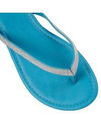 Lotus | Blue Ios Toe Post Sandals | Lyst