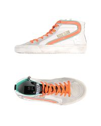 Golden Goose Deluxe Brand - White High-Tops & Trainers - Lyst
