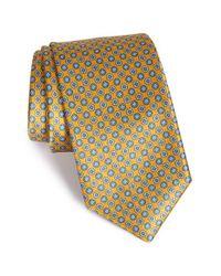Robert Talbott - Metallic Medallion Silk Tie for Men - Lyst