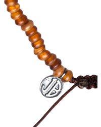 Joseph Brooks - Brown Beaded Bracelet for Men - Lyst