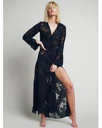 For Love & Lemons - Black Womens Breezy Maxi Dress - Lyst