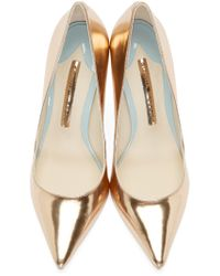 Sophia Webster - Pink Rose Gold Coco Flamindo Pumps - Lyst