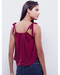 Free People | Purple Sugar Plum Top | Lyst