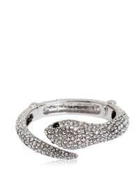 Roberto Cavalli - Metallic Embellished Snake Bracelet - Lyst