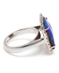 Kimberly Mcdonald | Metallic Boulder Opal And Diamond Ring | Lyst