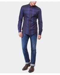 Vivienne Westwood - Blue Window Pane Shirt for Men - Lyst