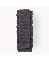 Tommy Hilfiger | Gray Silk Tailored Tie for Men | Lyst