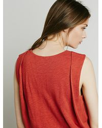 Free People | Red Fp Beach Womens Gallery Night Dress | Lyst