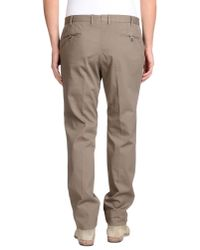 PT01 - Natural Casual Trouser for Men - Lyst
