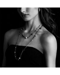 David Yurman - Metallic Dy Elements Chain Necklace - Lyst