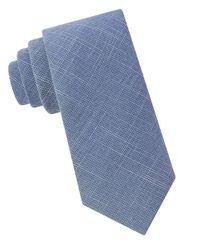 William Rast | Blue Sammy Textured Tie for Men | Lyst