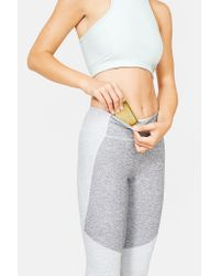 Outdoor Voices | Gray Two-tone Warmup Legging | Lyst