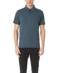 RVCA | Blue Sure Thing Ii Polo for Men | Lyst