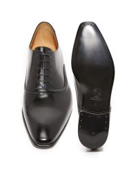 PS by Paul Smith - Black Starling Plain Toe Derby Shoes for Men - Lyst