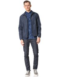 Norse Projects - Blue Anton Indigo Leaf Shirt for Men - Lyst