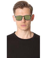 Oakley - Green Latch Square Sunglasses for Men - Lyst