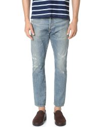 a7364449 Citizens of Humanity. Men's Blue Premium Vintage Rowan Relaxed Slim Jeans