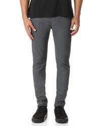 Rag & Bone | Gray Standard Issue Fit 1 Jeans for Men | Lyst