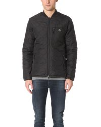 Penfield | Black Oakdale Quilted Jacket for Men | Lyst