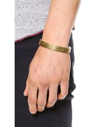 Miansai - Metallic Layered Brass Cuff for Men - Lyst