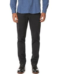 Billy Reid | Black Ashland 5 Pocket Baby Corduroy Jeans for Men | Lyst