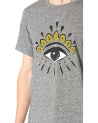 KENZO - Multicolor Eye Tee for Men - Lyst