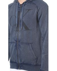Calvin Klein Jeans - Gray Ck Jeans Reissue Hoodie for Men - Lyst