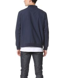 Stussy - Blue Pieced Pullover for Men - Lyst