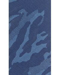 Thomas Mason - Blue 7cm Camo Tie for Men - Lyst