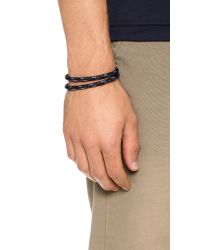 Miansai - Black Casings Rope Bracelet for Men - Lyst