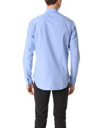 Maison Labiche | Blue Des Shirt for Men | Lyst