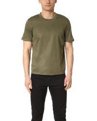 Calvin Klein | Green Lane Bonded Technical Jersey Tee for Men | Lyst