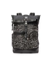 Tumi | Black Alpha Bravo Luke Roll Top Backpack for Men | Lyst