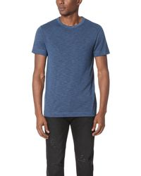 Theory | Blue Gaskell Anemone Tee for Men | Lyst