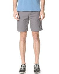 Norse Projects - Gray Laurits Cotton Ripstop Shorts for Men - Lyst