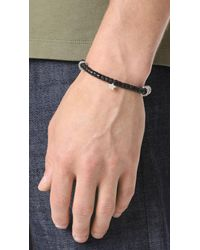 Scosha - Metallic Mantra Bracelet for Men - Lyst