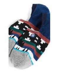 Stance - Blue Waziatta Low Socks for Men - Lyst