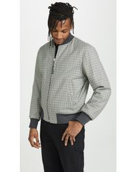 Rag & Bone Black Reversible Manston Jacket for men