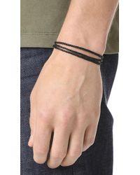 Scosha - Multicolor Triple Strand Bracelet for Men - Lyst