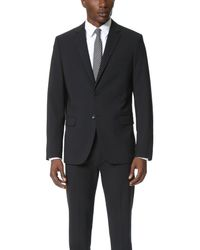 Theory - Black Wellar Suit Jacket for Men - Lyst