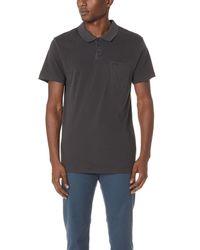 RVCA - Black Ptc Pigment Polo for Men - Lyst