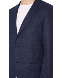 Club Monaco - Blue Grant Donegal Blazer for Men - Lyst