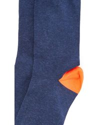 Corgi - Orange Heel & Toe Contrast Socks for Men - Lyst