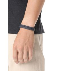 Miansai - Blue Beacon Leather Bracelet for Men - Lyst