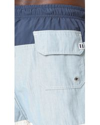 Solid & Striped - Multicolor The Classic Colorblocked Trunks for Men - Lyst
