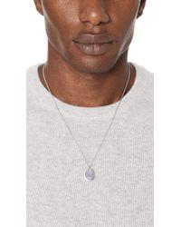A.P.C. - Metallic Pendant Necklace for Men - Lyst