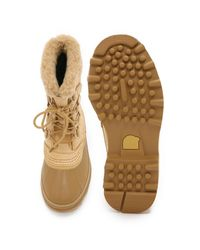 Sorel - Natural Caribou Boots for Men - Lyst