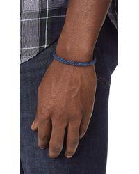 Scosha - Blue Signature Bracelet for Men - Lyst