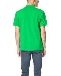 Lacoste - Green Short Sleeve Classic Polo Shirt for Men - Lyst